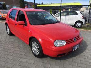 2002 Volkswagen Golf 1.6 SE Automatic Hatchback FREE 1 YEAR WARRANTY Wangara Wanneroo Area Preview