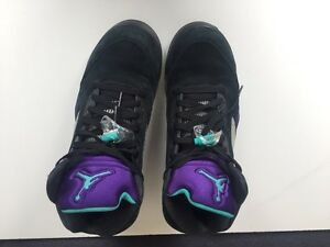 Nike Air Jordan 5 Retro Black/Grape/Emerald