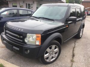 2007 Land Rover LR3 HSE  SNOW TIRES INCLUDED BLACK FRIDAY SALE