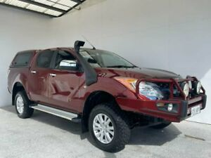 2012 Mazda BT-50 UP0YF1 XTR Red 6 Speed Manual Utility Mount Gambier Grant Area Preview