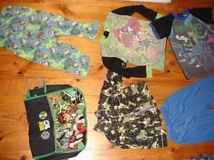 6xBen10 Satchel Flannel PJ Shirt+Bottoms Tops Boy Sz4-6 yrs Excel Lyons Woden Valley Preview