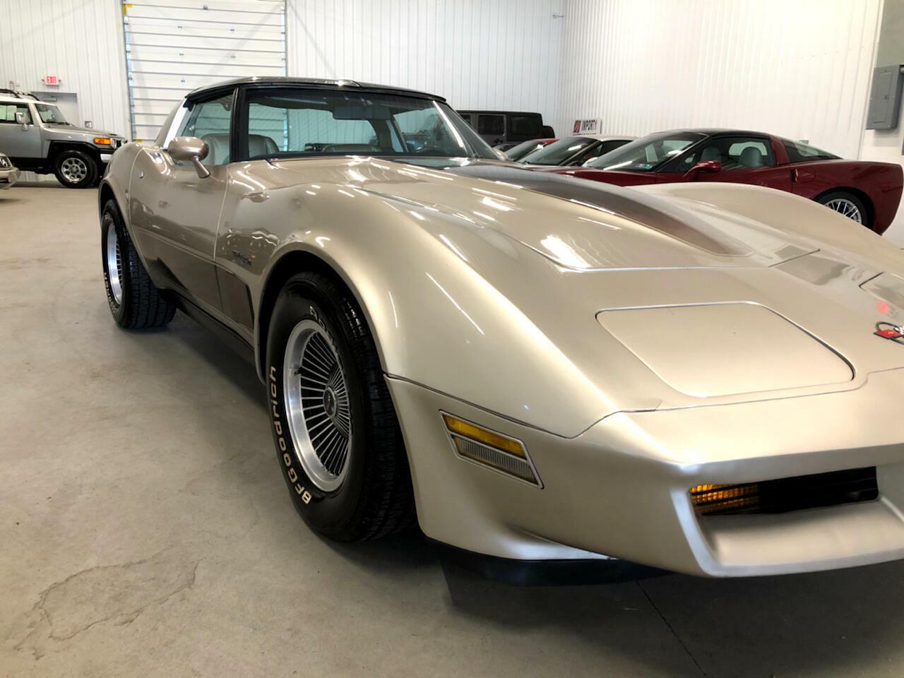 1982 Silver Chevrolet Corvette     C3 Corvette Photo 5