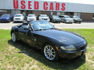 2006 BMW Z4 3.0i~BLACK ON BLACK~AUTO~CERTIFIED
