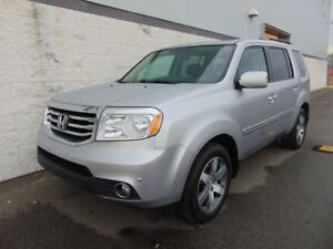 2014 Honda Pilot TOURING CUIR TOIT NAVI DVD 4WD LEATHER ROOF NAV