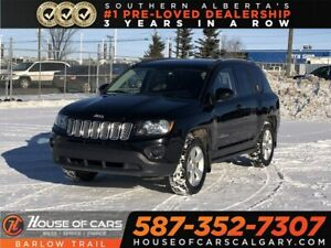 2015 Jeep Compass Sport/North / Heated leather seats