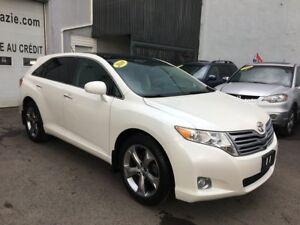 2010 Toyota Venza AUT. CUIR TOIT AWD ETAT IMPECCABLE D'OCCASION