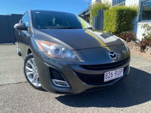 2010 Mazda 3 BL10L1 MY10 SP25 Activematic Grey 5 Speed Sports Automatic Sedan Slacks Creek Logan Area Preview