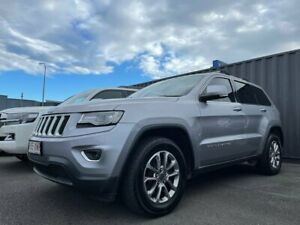 2014 Jeep Grand Cherokee WK MY2014 Laredo Silver 8 Speed Sports Automatic Wagon Tweed Heads South Tweed Heads Area Preview