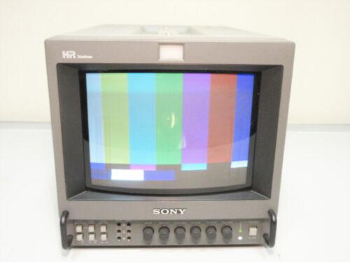 "SONY PVM-8044Q HR TRINITRON COLOR PRODUCTION MONITOR 8"" ~ UNIT C III"