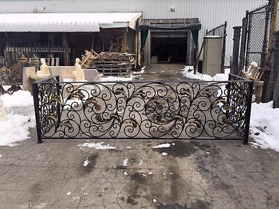 THE BEST HAND MADE WROUGHT IRON VICTORIAN STYLE ESTATE BALCONY RAILINGS -