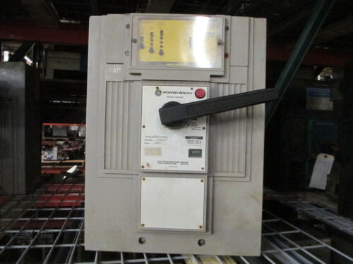 Ge Powerbreak Tpss7625gb 2500a 3p 600v Mo/fixed Mount W/ Lig Used E-ok