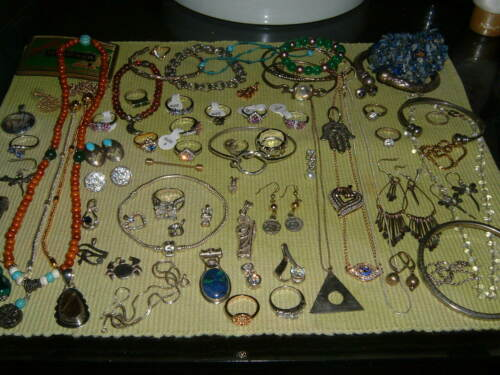 75 pc mixed jewelry lot