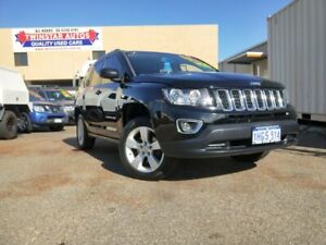 2012 Jeep Compass MK MY12 Sport (4x2) Black Continuous Variable Wagon Malaga Swan Area Preview
