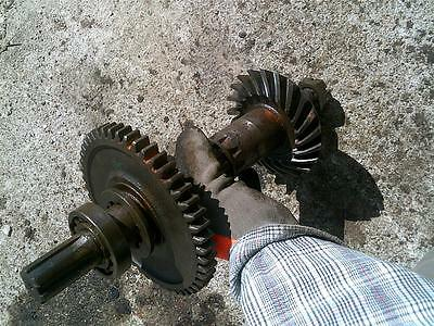 Massey Harris 44 Mh Tractor Power Take Off Pto Main Input Drive Gear Gearsshaft