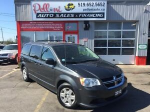 2012 Dodge Grand Caravan SE|STOW N' GO|CAPTAINS CHAIRS|REAR A/C