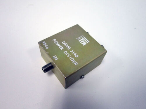 TRM MICROWAVE DMM2140 DMM 2140 POWER DIVIDER SMA