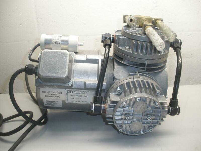 KNF Neuberger UN035.1.2ATI Diaphragm Vacuum Pump 115V 60 H 3.75 Amp