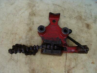 Ridgid Bc-410 Chain Pipe Vise 18 To 4 Inch Works Fine
