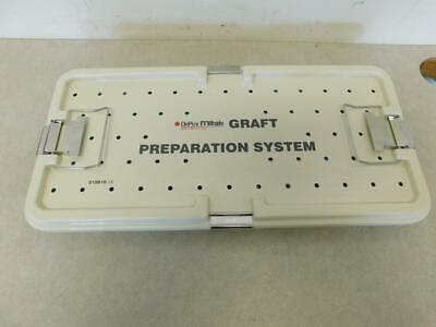 Depuy Mitek 215810 Graft Preparation System Tray- Complete