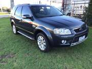 2010 Ford Territory SY Mkii Ghia RWD Black 4 Speed Sports Auto. Hoppers Crossing Wyndham Area Preview