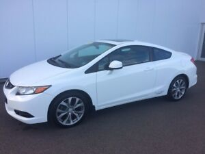 2012 Honda Civic Cpe Si This is a one owner vehicle Sold and ser