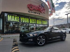 2017 Ford Mustang V6 REAR CAM B-TOOTH PUSH START AS LOW AS 4.99%