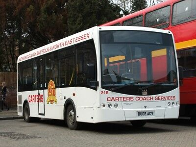 BU08ACV Carters 6x4 Quality Bus Photograph