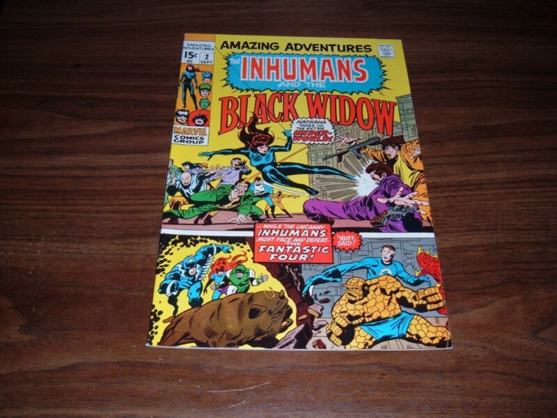 Amazing Adventures 2-10,13,18----total of 11 comic books