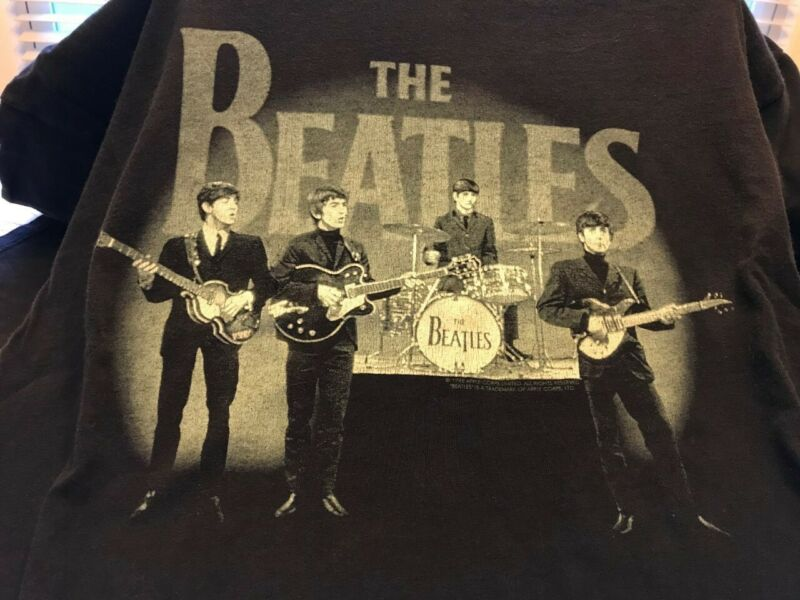 Vintage The Beatles T-shirt Copyright 1998 Men