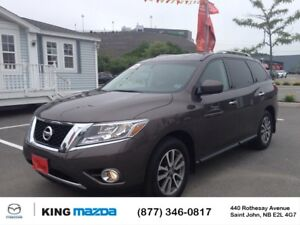 2015 Nissan Pathfinder SV- $188 B/W 7 PASSENGER..AWD..HEATED SEA