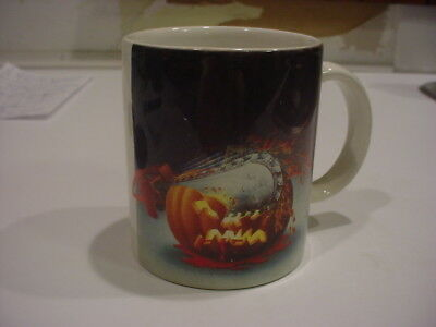 RARE,EARLY HHN Halloween Horror Nights CHAINSAW PUMPKIN MUG](Halloween Horror Nights Chainsaws)