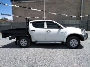 2012  MITSUBISHI TRITON GLX 4X4 TURBO DIESEL GOOD KMS $17,990 Klemzig Port Adelaide Area Preview