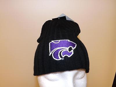 brand new 885dd 6389e New Kansas State Wildcats Adult Ones Size Fits Beanie Cap Hat