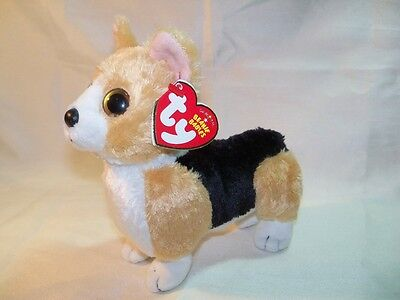 "Pembroke Welsh Corgi ""Otis"" Ty Plush Toy Dog"