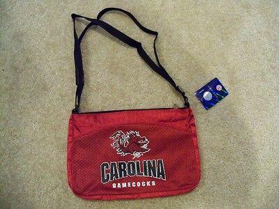 (NEW NCAA South Carolina Gamecocks Jersey Mini Purse NWT)