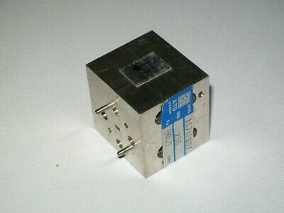 Trg Alpha Ind. Wr10 90 Ghz Microwave Isolator W Band 75-110 Ghz 30db Isolation