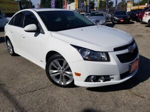 2014 Chevrolet Cruze 2LT,RS Package,Camera,Bluetooth,AUX,USB,Roo