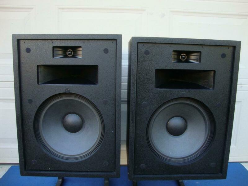 Awesome KLIPSCH Heresy I (HBB) 3-Way Floor speakers - Tested!