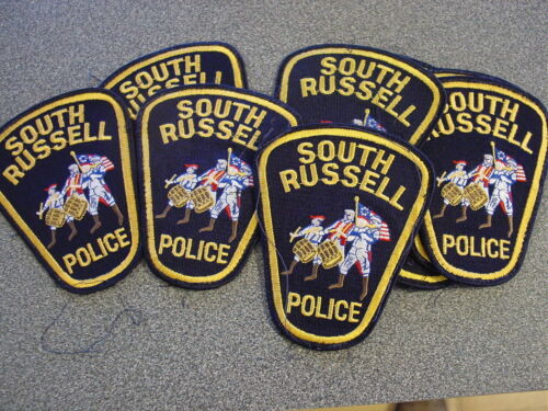 Reseller Lot of 10 South Russell Police Geauga County Ohio OH Patches New