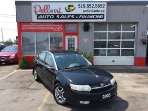 2003 Saturn Ion UPLEVEL|LEATHER|ALLOYS|NO ACCIDENTS