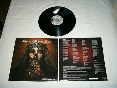 SCHLEISSE STANKEND GLIUD --- rare original 2010 DEFINITIV MORSCH LP!!!  metal