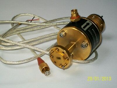 Hughes Millitech 50-75 Ghz V Band Microwave Millimeter Ferrite Modulator Wr15
