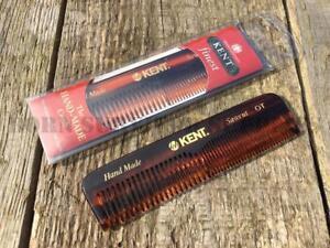Kent Handmade Pocket Comb OT Coarse & Fine Hair Beard Brush Made In UK EDC Gift