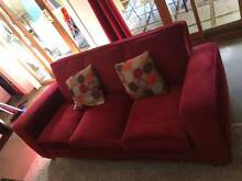 Red Vintage couch in awesome condition Bondi Beach Eastern Suburbs Preview