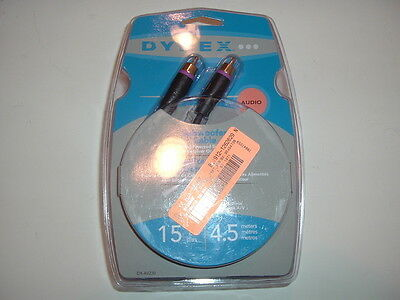 Dynex DX-AV230 15Ft. Subwoofer Audio Cable - Dynex Subwoofers