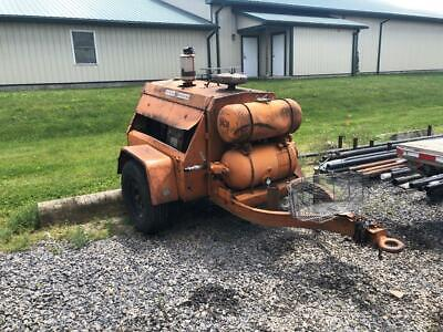 Ingersoll-rand 85 Cfm Portable Air Compressor Powered By International Harvester
