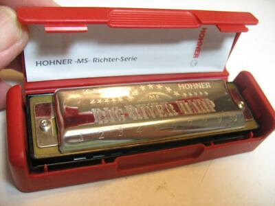 Small Hohner Harmonica In Original Case - $16.09