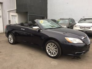 2011 Chrysler 200 Limited CONVERTIBLE TOIT RIGIDE CUIR D'CCASION