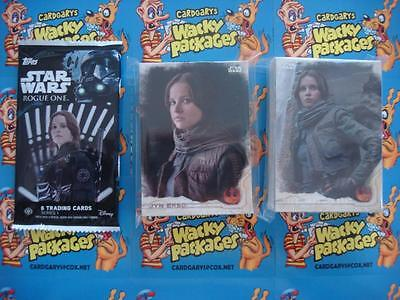 2016 Topps Star Wars Rogue One Series 1 COMPLETE SET OF 90 Trading Cards ~~sale~