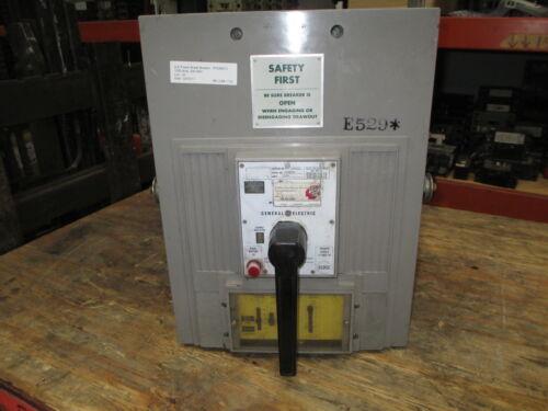 Ge Powerbreak Tpss6610 1000a 3p 600v Mo/do Circuit Breaker W/ Li Used E-ok